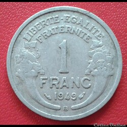1 franc 1949 B