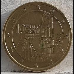 Autriche - 2008 - 10 cents