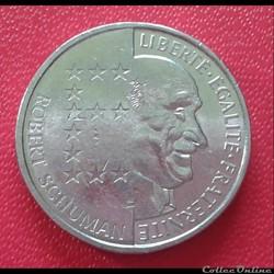 10 francs 1986 - schuman