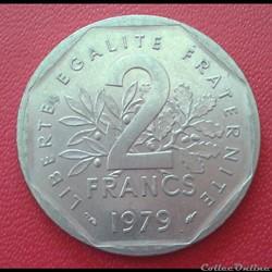 2 francs 1979