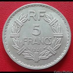 5 francs 1946 - ALU