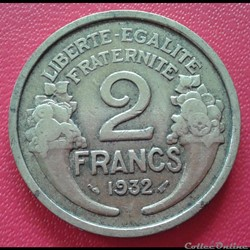 2 francs 1932