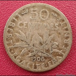 50 centimes 1908