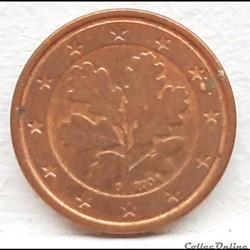 Allemagne - 2004 - G - 1 cent