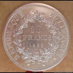 10 francs 1968