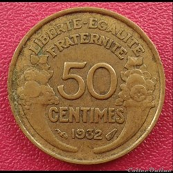 50 centimes 1932 (a)