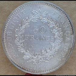 50 francs 1975