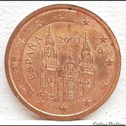 Espagne - 2003 - 2 cents