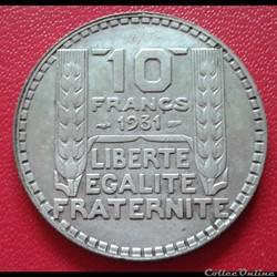 10 francs 1931