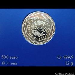 France - 2010- 500 euros