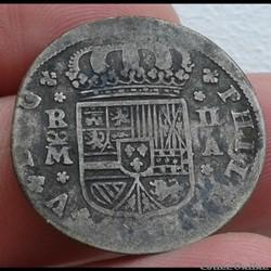 ESPAGNE - 2 Reales 1721