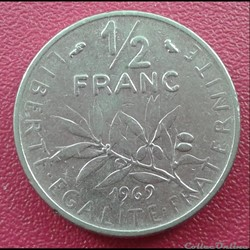 50 centimes 1969