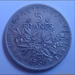 5 francs 1961