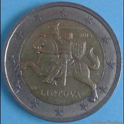Lituanie - 2015 - 2 euros