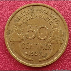 50 centimes 1937