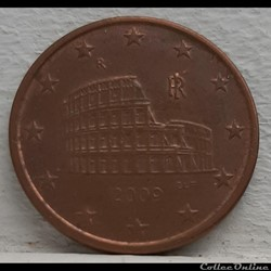Italie - 2009 - 5 cents