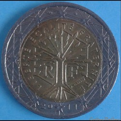 France - 2011 - 2 euros