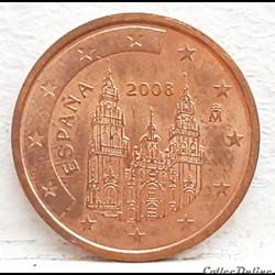 Espagne - 2008 - 2 cents