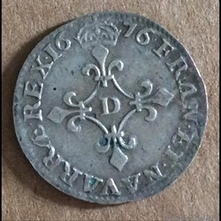 1676 D - 4 sols aux traitans
