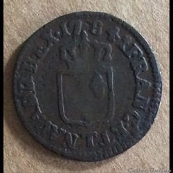 1784 T - Liard à l'écu