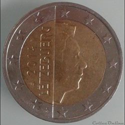 Luxembourg - 2014 - 2 euros
