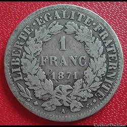 1871 A - petit A
