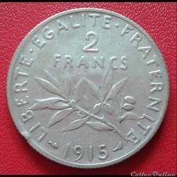 2 francs 1915