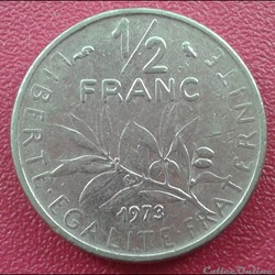50 centimes 1973