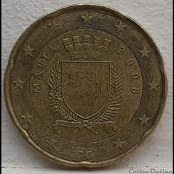 Malte - 2008 - 20 cents