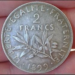 2 francs 1899