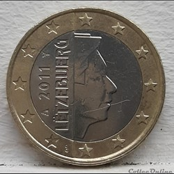 Luxembourg - 2011 - 1 euro