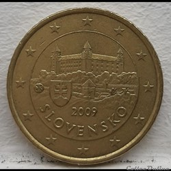 Slovaquie - 2009 - 50 cents