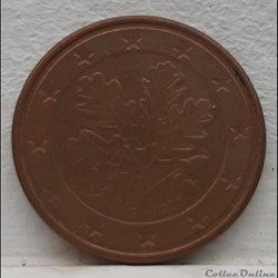 Allemagne - 2002 - G - 5 cents