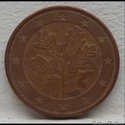 Allemagne - 2006 - J - 5 cents