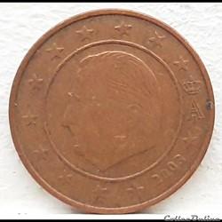 Belgique - 2003 - 2 cents