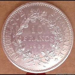 10 francs 1967 (point)