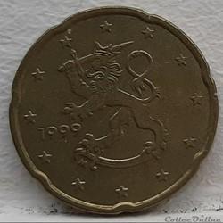 Finlande - 1999 - 20 cents