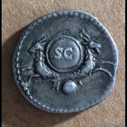 Vespasien - denier - capricorne