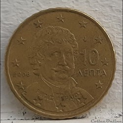 Grece - 2006 - 10 cents