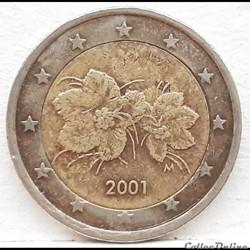 Finlande - 2001 - 2 euros