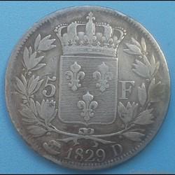 5 francs 1829 D