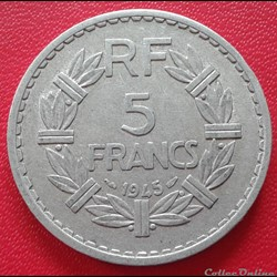 5 francs 1945 - ALU