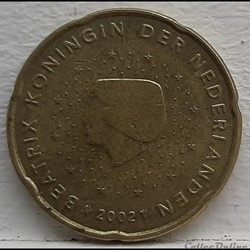 Pays-Bas - 2002 - 20 cents