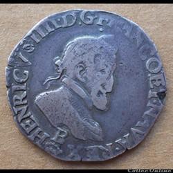 Henri IV - Demi franc 1605