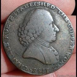 ROYAUME-UNI - 1/2 penny Macclesfield