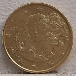 Italie - 2008 - 10 cents