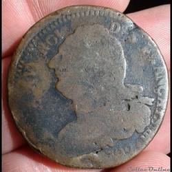 FRANCE - 2 Sols Francais 1792 BB