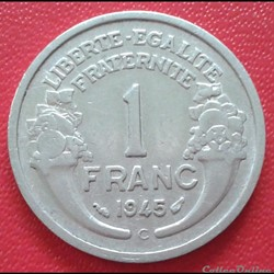 1 franc 1945 C
