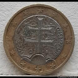 Slovaquie - 2009 - 1 euro