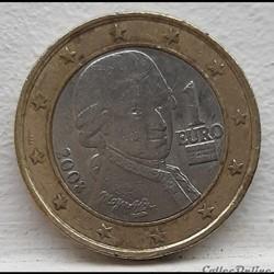 Autriche - 2008 - 1 euro